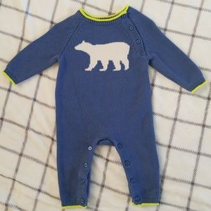 Other - EUC Baby Gap Boys Sweater One-Piece Playsuit 6-12m